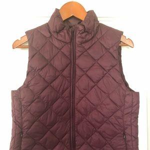 Loft puffy vest so small.